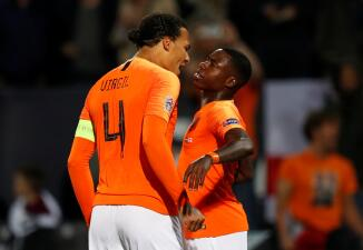 En fotos: la 'Naranja Mecánica' venció a Inglaterra y es finalista de UEFA Nations League
