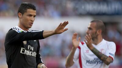 Sin Cristiano, Real Madrid recibe al Sevilla en los octavos de final de la Copa del Rey