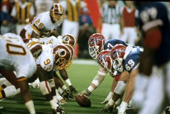 Recuerdo del Super Bowl XXVI: Washington Redskins - Buffalo Bills