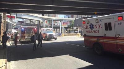 Accidente en el Lincoln Tunnel