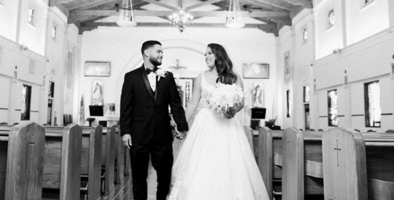 Drummer of Las Fenix shares photos from her big day