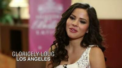 Gloricely Loug regresó con todo a Los Angeles para Nuestra Belleza Latina 2015