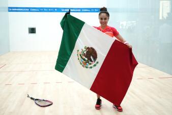 Paola Longoria, sinónimo de éxito en el deporte bajo el cobijo de la bandera de México