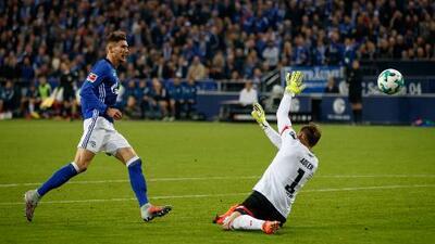 El depredador Goretzka abrió la cuenta para Schalke 04