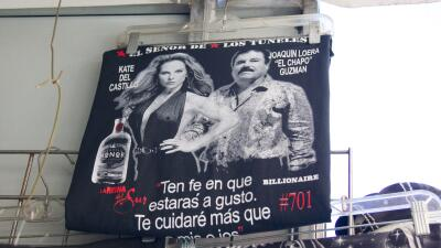 """En Nueva York """"El Chapo"""" Guzmán vende más que Pablo Escobar"""
