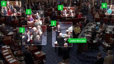 """Análisis visual de la sorpresa en el Senado ante el histórico """"no"""" de John McCain"""