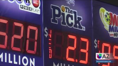 Arizonense gana una porción del premio mayor de la lotería
