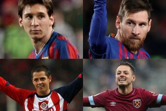 El fútbol vive su '10 years challenge': el cambio de los cracks del 2009 al 2019