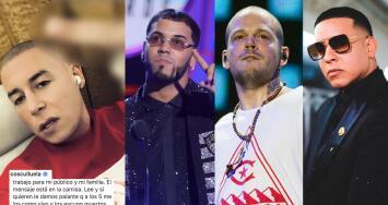 Guerra en el reggaeton: Anuel AA, Daddy Yankee, Residente y Cosculluela protagonizan el nuevo drama del género