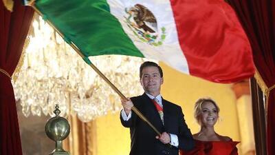 El último 'grito' de Enrique Peña Nieto como presidente desde el Palacio Nacional de México