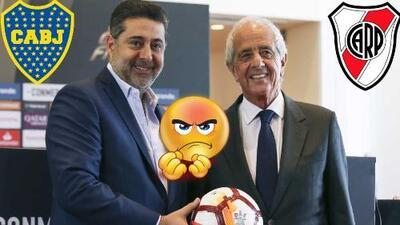 ¿Conmebol y River Plate contra el 'traidor' Boca Juniors? El plan para no perder en el escritorio