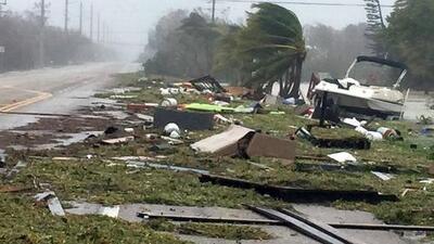 El desplazamiento del huracán Irma, un camino de destrucción que comienza a ser reedificado