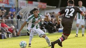 Uriel Antuna reapareció en el empate del Groningen