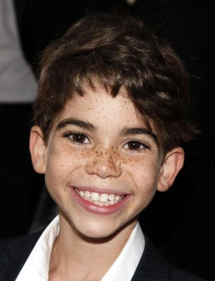 Con tan solo 9 años, Cameron Boyce debutó como actor al participar en la película 'Mirrors'.