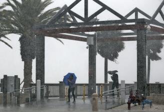 Lo que deja la tormenta tropical Colin a su paso por Florida