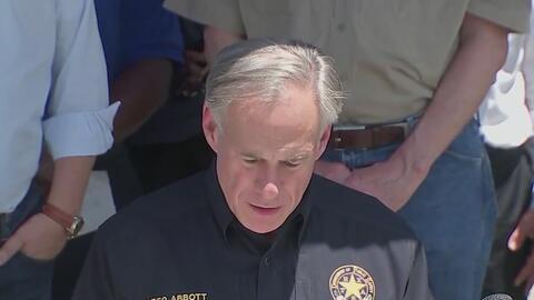 'Es la peor tragedia en escuelas de Texas': Greg Abbott