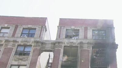 Anuncian demanda contra la ciudad de Nueva York por el incendio en un edificio de Nycha