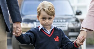 Así han sido los tristes 20 primeros días de escuela del príncipe George 😞