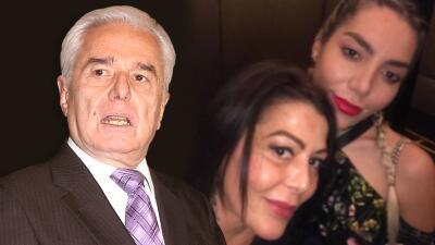 Enrique Guzmán admite que su trabajo se afectó por el pleito entre Alejandra y Frida Sofía