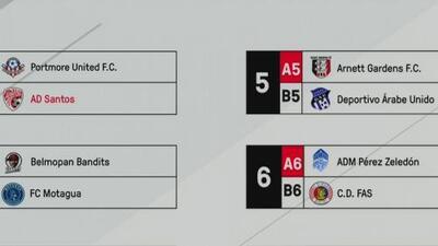 La Liga Concacaf sorteó sus enfrentamientos de octavos de final