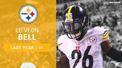 #9: Le'Veon Bell (RB, Steelers) | Top 100 Jugadores 2017