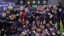 PSG vence al Mónaco y se queda con la Copa de Francia