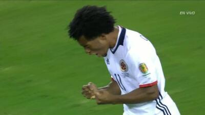 Goooolll!!! Juan Guillermo Cuadrado Bello anota su penalti para el Colombia