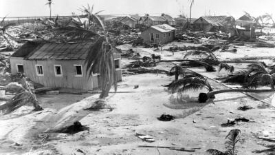 El huracán del Labor Day de 1935: un poderoso fenómeno meteorológico de categoría 5 que dejó cerca de 400 fallecidos