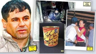 Túneles, latas de chiles y pistolas con diamantes: la evidencia que hundió a 'El Chapo' en su juicio (fotos)
