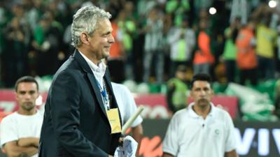 Reinaldo Rueda se despide de Atlético Nacional igualando el récord de 'Pacho' Maturana y Juan Carlos Osorio