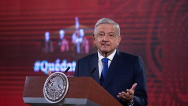 """""""No se pueden inventar delitos"""", dice AMLO al confirmar que México no procesará a Salvador Cienfuegos"""
