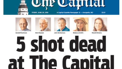 Silencio a las 2:33 pm: las salas de redacción honran a las cinco víctimas del ataque de Capital Gazette