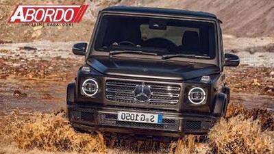 Detroit Auto Show 2018: Mercedes-Benz Clase-G 2019 - A Bordo