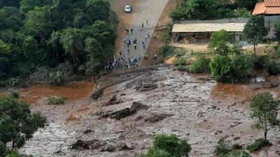 Ruptura de una represa minera en Brasil deja varios muertos y decenas de desaparecidos
