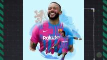Así anunció Barcelona a su León: Memphis Depay
