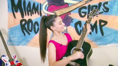 ¡Transfórmate en toda una rockstar! Conoce el campamento de rock para niñas