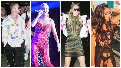 Sofía Castro encontró el estilo Coachella: los mejor y peor vestidos del festival de música