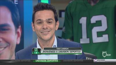 ¡Tony Cherchi, bienvenido a Univision Deportes!