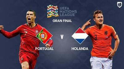 ¡Por el título de la UEFA Nations League! Cristiano y Portugal contra la joven Holanda