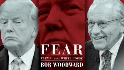 """Cuatro cosas que diferencian al libro de Bob Woodward de otros sobre la """"caótica"""" Casa Blanca de Donald Trump"""