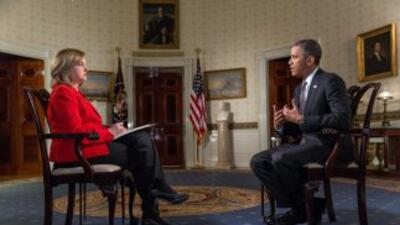 Barack Obama en entrevista con Univision