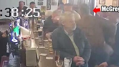 Conor McGregor hits old man for not drinking his whiskey