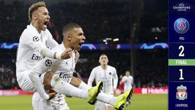 El PSG cobra revancha ante Liverpool recargado en su vertiginoso ataque