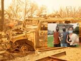 """""""Tuvimos que salir corriendo"""": residentes buscan refugio tras perder sus casas por el paso del incendio Creek"""