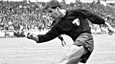 Enrique Borja recordó el gol que le marcó a Francia en el Mundial de Inglaterra 1966