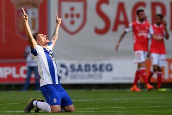 En fotos: Corona y Herrera fueron titulares en el triunfo de Porto de visita a Braga en Portugal