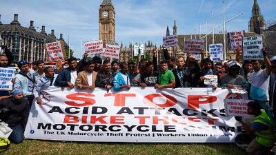 El aumento de los ataques con ácido en Reino Unido obliga al gobierno a reforzar la seguridad