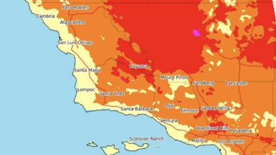Alerta en Los Ángeles: ola de calor se extiende con temperaturas por arriba de los 100ºF