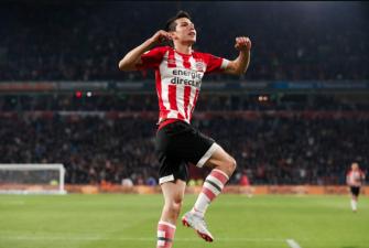 En fotos: el PSV se dio un festín ante el Emmen con goles y asistencias de los mexicanos