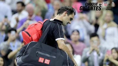Roger Federer es eliminado del US Open, cae por primera vez ante Grigor Dimitrov